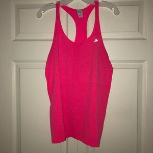 Pink Champion Duo Dry racer back athletic tank top